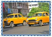 Roads & Cabs in Calcutta