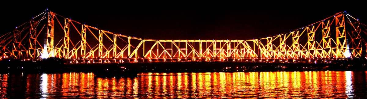 Howrah Bridge Calcutta Howrah Bridge Hawrah Bridge In Kolkata India